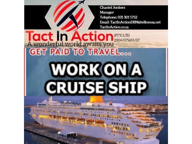 Hospitality Recruiter Many Positions On Cruise Ship - Positions on a cruise ship