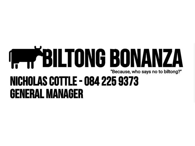 Biltong Bonanza-Commission Based Sales Opportunity
