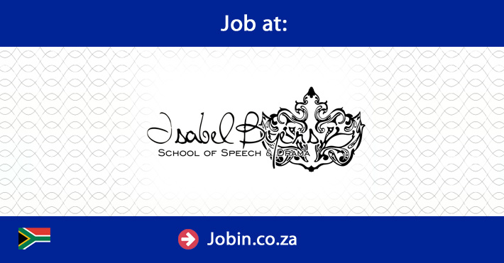Exciting opportunity for a speech and drama teacher for Extra mural program