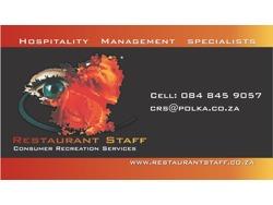 Sales Representative-Hospitality
