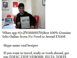 Obtain ielts band 7. 5(WatsAp 27838808170), get real ielts india, target band 7 Canada, UAE