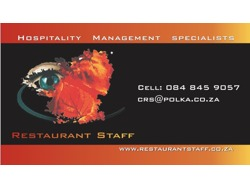 Restaurant Manager-Waterkloof