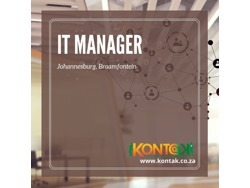 IT MANAGER ( JB855)