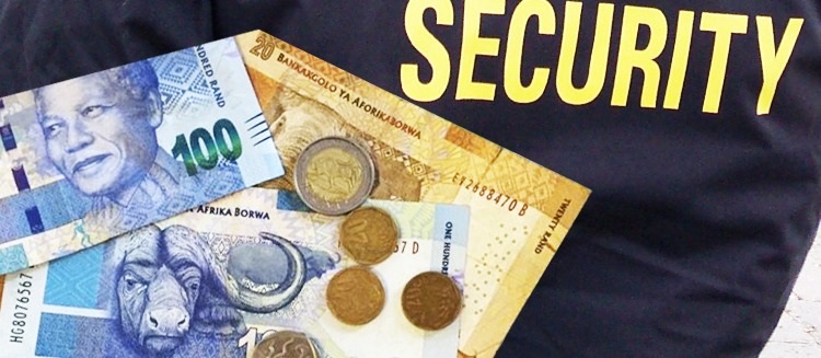 What salary can you expect as a security guard in SA?