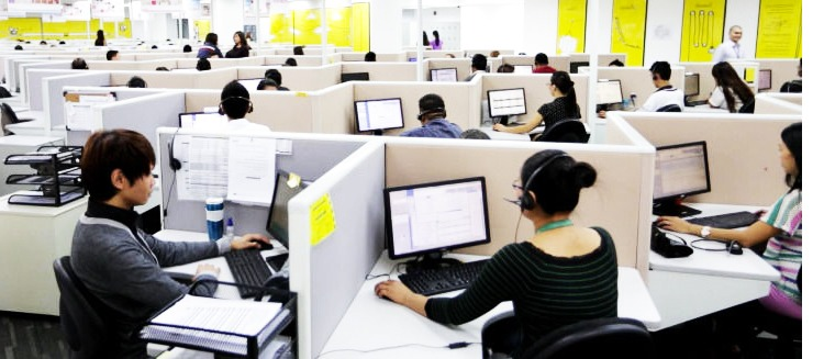 Job in Call center